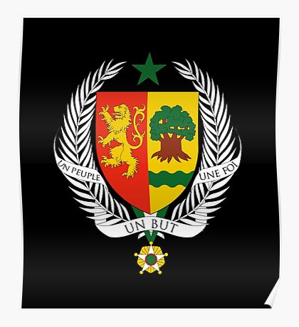 Coat of arms of Senegal Poster