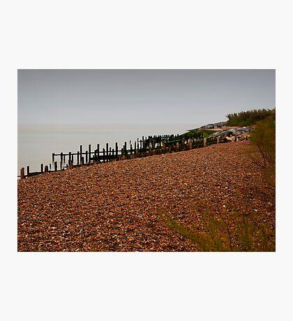 Dull Sea Photographic Print