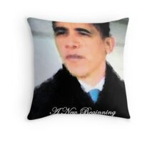 A New Beginning - Mr President  Throw Pillow