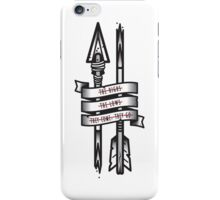 Highs, Lows & Arrows iPhone Case/Skin