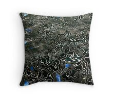 Glass in Water Throw Pillow