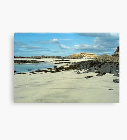 Bay MacNeil Ardnamurchan Canvas Print