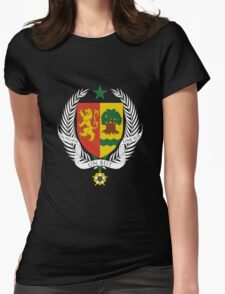 Coat of arms of Senegal Womens Fitted T-Shirt