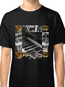 Play the Pretty Notes! Music Collage Classic T-Shirt
