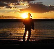 Tranquil Cowboy by Heath Dreger