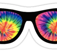 Rainbow Glasses Sticker