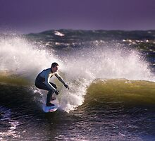 Winter Surf - by Mark Guest