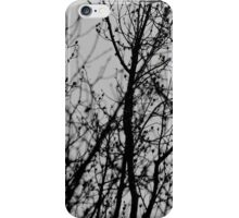 To touch the clouds (silhouette 2) iPhone Case/Skin