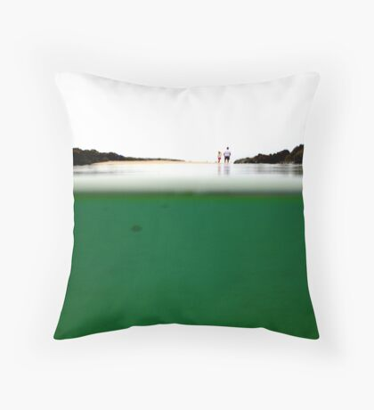 Above and Below... Throw Pillow