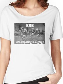 BRB COMPOSING IN A GORGE Women's Relaxed Fit T-Shirt