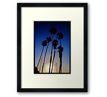 Giants in the Sun Framed Print