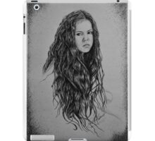 Ellie - B & W iPad Case/Skin