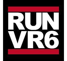 RUN VR6 Photographic Print