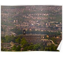View from Castle Hill Poster