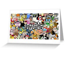 Cartoon Network childhood shows Greeting Card