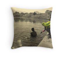 Pushkar Magic Throw Pillow