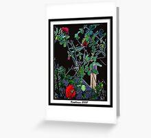 God's Rose Bush Greeting Card
