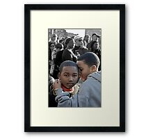 Americans Part ! ... Our Next President 2040 Framed Print