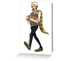 Hogwarts Niall Greeting Card