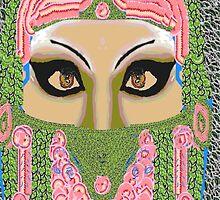 Ancient mask by mitch nichols
