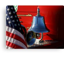 The Vintage Firefighter ~ Part One Canvas Print