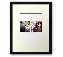 Gamer Girls by KlockworkKat Framed Print
