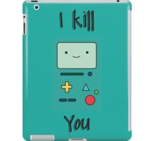 Kill you iPad Case/Skin