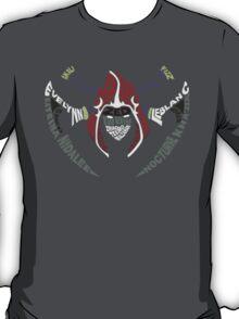 Assassin Calligram - League of Legends T-Shirt