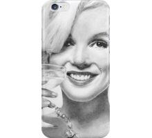 Cheers Marilyn iPhone Case/Skin