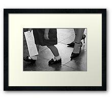Mother & Daughter Framed Print
