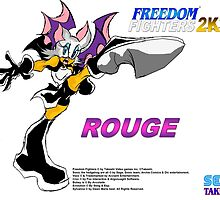 Rouge (Freedom Fighters 2K3) by TakeshiMedia