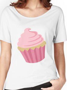 Just a Cupcake Sticker Women's Relaxed Fit T-Shirt