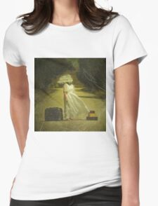 Which way ought I to go? Womens Fitted T-Shirt