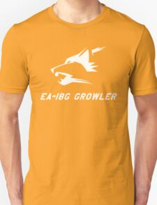 EA-18G Growler - WHITE Unisex T-Shirt