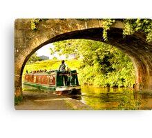 barge woman Canvas Print