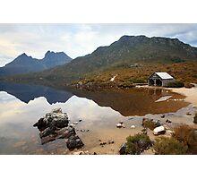 Boat Shed, Dove Lake, Cradle Mountain Nat. Park, Australia Photographic Print