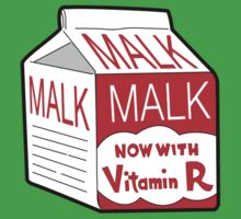 But I Always Drink Plenty of... Malk? Baby Tee