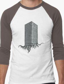 medusatowerblock Men's Baseball ¾ T-Shirt