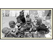 Dolls on the Street  Photographic Print