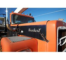 Brockway 351 With Chrome Glint Photographic Print
