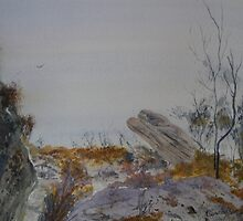 Mountain mystique - Grampians by Kay Cunningham