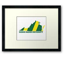 GMU State Framed Print