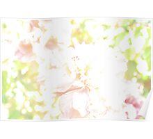 Floral romance. Poster