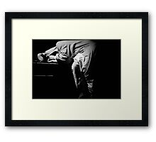 Tough Night Framed Print
