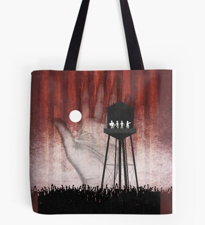 Night at the Water Tower Tote Bag