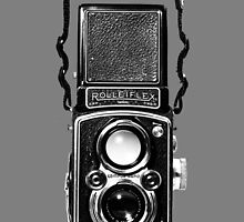 Classic Retro Rolleiflex Twin Lens Reflex Film Camera by Framerkat
