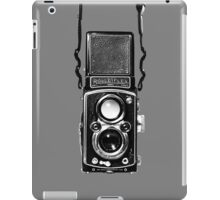 Classic Retro Rolleiflex Twin Lens Reflex Film Camera iPad Case/Skin