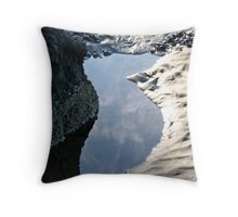 """""""Puddle and Mud Ripples"""" Throw Pillow"""