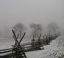 Foggy Morning by JDNarts