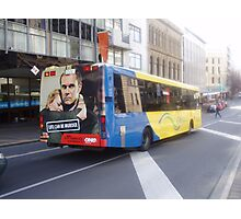 Dunedin City Bus Photographic Print